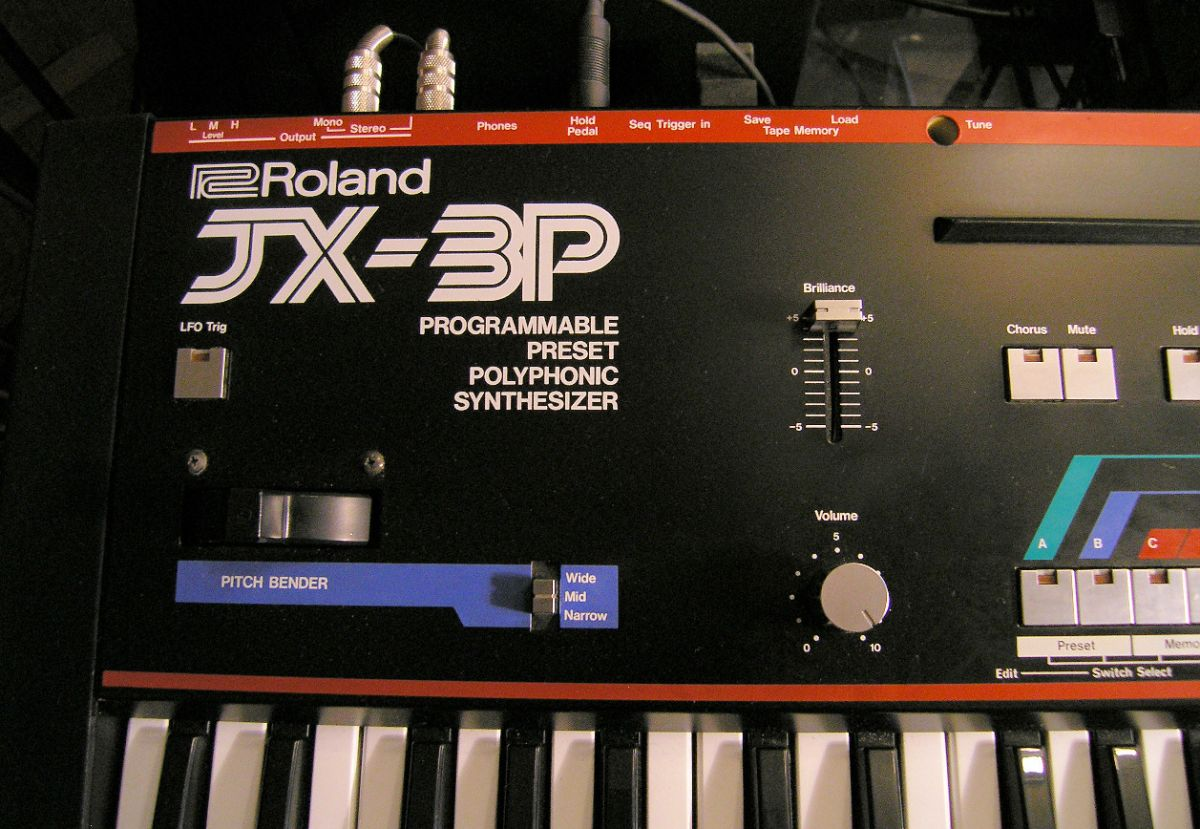 Roland JX3P for Ableton 